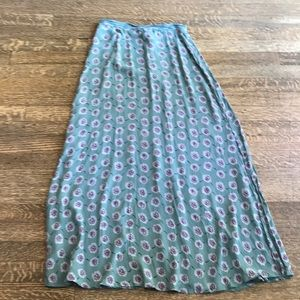 Hawaiian design Vintage floral print skirt